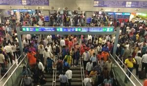 Porn clip at Rajiv Chowk: Delhi Metro probe says passengers used open...