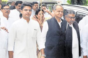 Unease in Pilot camp as Gehlot seeks to control Rajasthan despite...