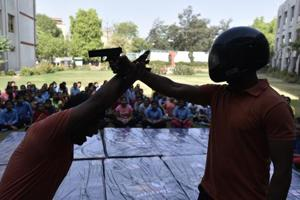 Almost 30 victims of sexual abuse were invited by the Delhi Police to join a self-defence training in south Delhi. 12 of these women accepted the invitation and are now being trained at a 15-day camp.