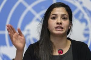 Syrian refugee and Olympic swimmer Yusra Mardini becomes UNHCR...