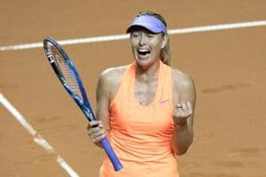 Maria Sharapova storms into Stuttgart Open semis on doping return