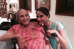 Sonam Kapoor on grandma's death: Love you nani, will miss you so much