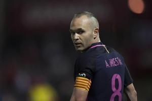 FC Barcelona's Andres Iniesta doubtful for La Liga derby vs Espanyol