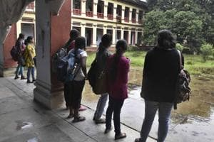 """The  Delhi University's Department of Social Work (DSW) hostel has asked its residents to """"dress up properly"""" while in the common room, reigniting a row over dress codes in colleges."""