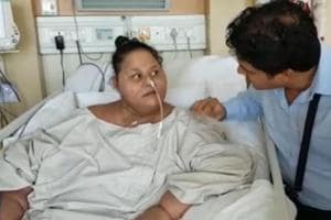 Egyptian Eman Ahmed won't leave Mumbai today