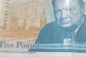 Much ado about grammar in UK's new 5-pound note