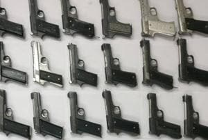 Delhi: 40 pistols, made in Bihar & MP, recovered from gunrunner