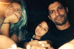 Farhan Akhtar's daughters Akira and Shakya join him in the cause of...