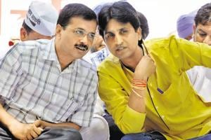 AAP crisis: Arvind Kejriwal says Kumar Vishwas his younger brother