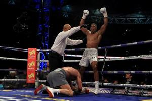 Anthony Joshua stops Wladimir Klitschko to win world heavyweight...