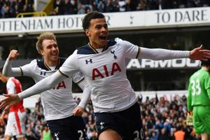 Tottenham Hotspur put pressure on Chelsea, Manchester United held in...