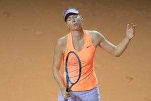 Maria Sharapova's comeback run at Stuttgart halted by Kristina...