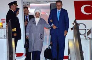 Turkish President Tayyip Erdogan, who is on a visit to India, was...
