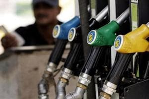 Petrol price hiked by 1 paisa, diesel by 44 paisa a litre