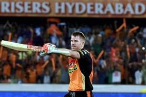 David Warner's 126 helps Sunrisers Hyderabad floor Kolkata Knight...