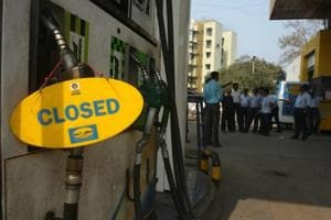 Ex-petroleum firm staff, two ITI pass-out aides behind UP petrol pump...