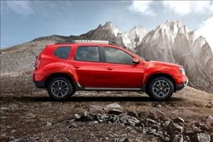 The new petrol range of Renault Duster was launched with a CVT variant on Tuesday.