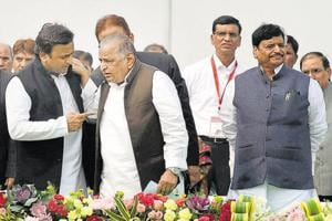 The battle for the party peaked in January, when Akhilesh snatched control of the party from his father. But the bitter tussle was seen as among the reasons for the party's loss.