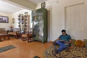 """""""It feels great to visit someone's house on a Sunday afternoon, just to read,"""" says Manish Pagnis, an HR manager from Pune. """"I've enjoyed reading about Chhatrapati Shivaji today and have so many new stories to tell my children."""""""
