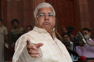 The Supreme Court reinstated criminal conspiracy charges against Lalu Prasad in a fodder scam case on May 8, 2017.
