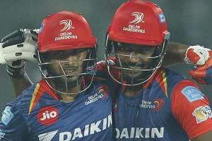 Rishabh Pant and Sanju Samson's 143-run stand guided Delhi Daredevils to a 7-wicket win over Gujarat Lions in an IPL 2017 clash at the Feroz Shah Kotla Stadium.