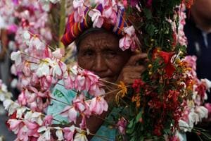 In pictures: Palms and flowers festival of El Salvador