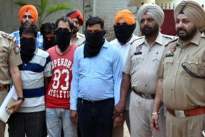 Gurkewal Singh was arrested on May 5 along with a head constable and their four accomplices for robbing a private firm employee of Rs 20 lakh last month