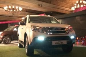 Isuzu's upcoming SUV MU-X will replace the MU-7 in India, to take on Toyota Fortuner and Ford Endeavour