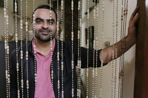 Poet Akhil Katyal is originally from Lucknow but has been in Delhi for 14 years and has made this city his muse.
