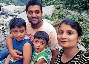 While Surinder Bajaj is battling for life, his wife Rina and sons Raghav and Madhav died in the accident. Rina's sister
