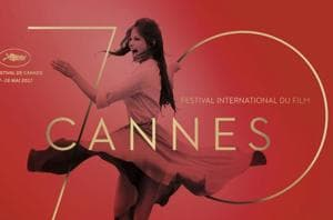 This official poster  of the festival has garnered flak, with many saying this vintage picture of model Claudia Cardinale is airbrushed.