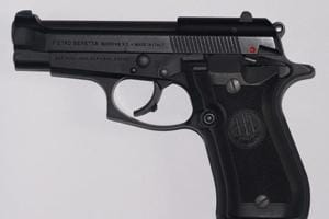 The Beretta Model 84 FS fetches an amount between Rs 25 to Rs 35 lakh in India whereas its price is less than USD 700.
