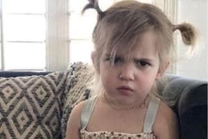 Two year old Mila Stauffer is taking over everyone's hearts with her videos.