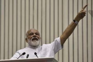 three out of five Indians are satisfied with Narendra Modi government's performance, says a survey.