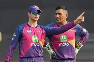 Steve Smith replaced MS Dhoni as Rising Pune Supergiant captain ahead of Indian Premier League (IPL) 2017.