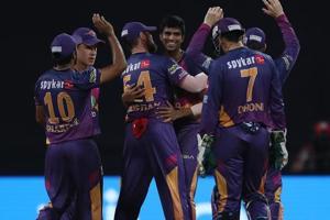 Washington Sundar picked up 3/16 as Rising Pune Supergiant defeated Mumbai Indians by 20 runs to enter the final of IPL2017.