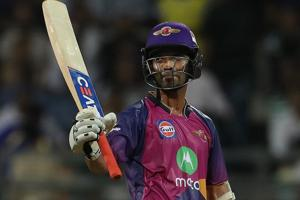 Ajinkya Rahane slammed his 25th fifty in the IPL as Rising Pune Supergiant defeated Mumbai Indians by 20 runs to enter the final of IPL2017.
