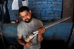 The traditional gun manufacturers of Jammu