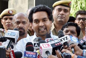 In a blog post sacked AAP minister Kapil Mishra claimed that the Delhi government failed to curb corruption and accused chief minister Arvind Kejriwal of holding meetings behind closed doors as he was scared of coming out in the public.