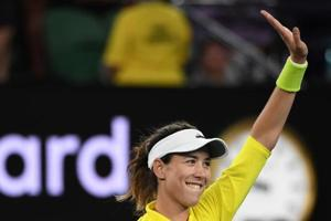 Garbine Muguruza, reigning French Open champion, was given a scare by Jelena Ostapenko in the third round of Italian Open.