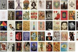 Aces! Christie's to auction deck of cards painted by 54 Indian artists