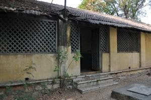 Railway drivers quarters in Lallaguda, Secunderabad. Many Irish Indians who drove trains lived in such bungalows, including