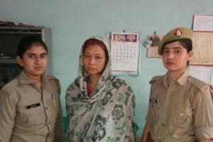 Anjana, 35, in police custodyonSaturday.
