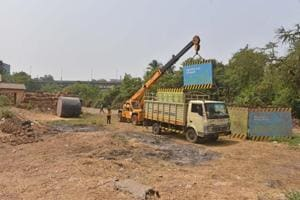 Mumbai's DP 1991 shows Aarey land near Metro-3 car-shed as...