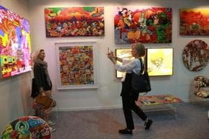 Indian and international artists showcase their works at India Art Fair every year. What will GST mean for their sales?