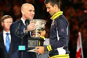 Novak Djokovic names Andre Agassi as coach at French Open