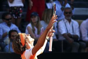 Alexander Zverev stuns Novak Djokovic to claim 1st Masters title...