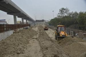 Ghaziabad authority resumes work on flyover over GT Road