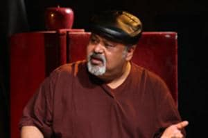 Actor Saurabh Shukla in a still from the play, 2 To Tango, 3 To Jive.
