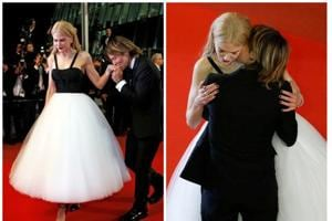 Nicole Kidman and Keith Urban's amorous display on the Cannes red carpet caught everyone's attention.